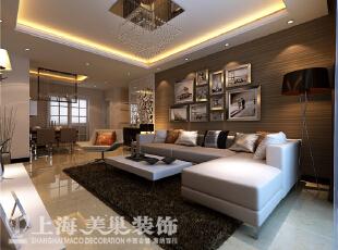 正商明钻6号楼130平方三室两厅现代简约风格装修效果图,130平,8万,现代,三居,客厅,