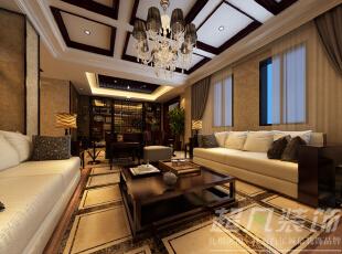 ,280平,36万,中式,别墅,餐厅,客厅,