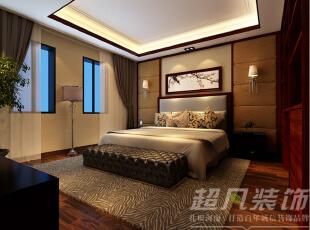 ,280平,36万,中式,别墅,卧室,阳台,