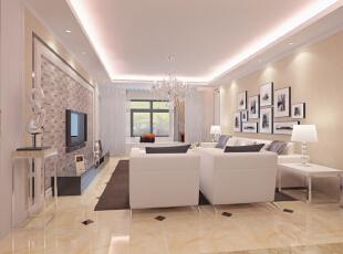 ,126平,5万,现代,两居,客厅,餐厅,卧室,厨房,书房,玄关,简约,田园,小资,黑白,原木色,白色,粉色,