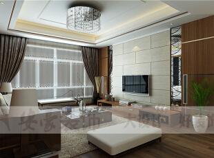 现代设计追求的是空间的实用性和灵活性。空间的利用率达到最高。简洁和实用是现代简约风格的基本特点。简约风格已经大行其道几年了,仍然保持很猛的势头,这是因为人们装修时总希望在经济、实用、舒适的同时,体现一定的文化品味。而简约风格不仅注重居室的实用性,而且还体现出了工业化社会生活的精致与个性,符合现代人的生活品位。 本案风格简洁大气,木色生香,适合节奏生活快速的都市人。,133平,4万,现代,三居,客厅,