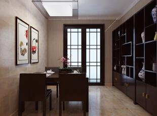 ,141平,25万,中式,三居,客厅,原木色,