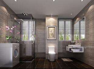 主观(风水)大气的欧式风格——卫生间,100平,5万,欧式,两居,卫生间,
