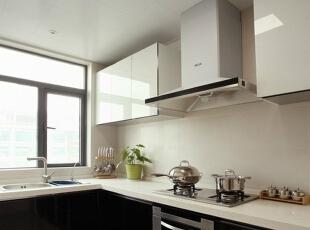厨房,138平,7万,简约,三居,厨房,黑白,现代,