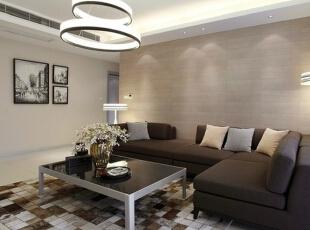 客厅沙发,138平,7万,简约,三居,白色,客厅,现代,