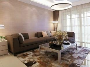 客厅沙发,138平,7万,简约,三居,客厅,白色,现代,