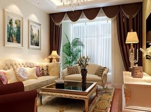 ,80平,6万,现代,两居,客厅,白色,