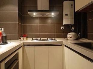 ,80平,6万,现代,两居,厨房,黑白,
