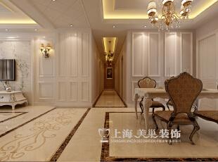 中信嘉苑17号楼160平四室两厅简欧风格装修效果图--门厅,160平,13万,欧式,四居,