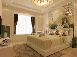 卧室,140平,10万,中式,两居,卧室,