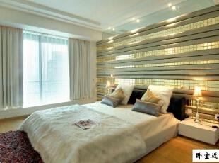 ,120平,17万,现代,三居,卧室,