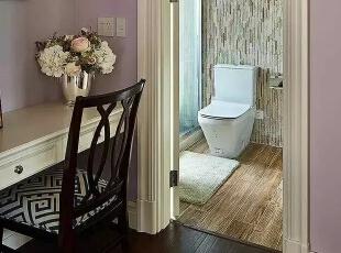 儿童房的卫浴,500平,220万,现代,一居,