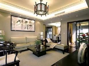 ,421平,85万,中式,别墅,客厅,