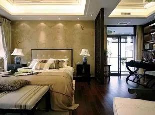 ,421平,85万,中式,别墅,卧室,