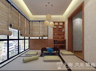 豫武花园200平新中式风格书房效果图,200平,25万,中式,四居,书房,