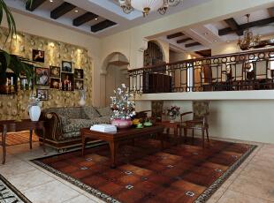 所谓混搭风格,就是一种东西方元素的混搭式装修风格,它糅合了东西方独特的美学理念从而形成充满想象力的家居设计风格,142.0平,5.0万,现代,四居,客厅,