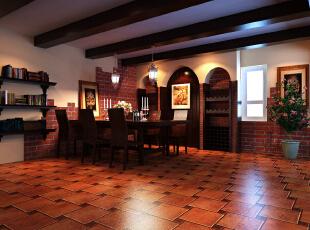所谓混搭风格,就是一种东西方元素的混搭式装修风格,它糅合了东西方独特的美学理念从而形成充满想象力的家居设计风格,142.0平,5.0万,现代,四居,餐厅,