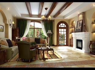 地中海风格是西欧文艺复兴之后兴起的一种新的风格,地中海家具也以其自然清新的田园风情被广大消费者所认可,下面我们就从地中海风格的特点中更多的了解地中海风格。,109平,5.2万,三居,地中海,客厅,