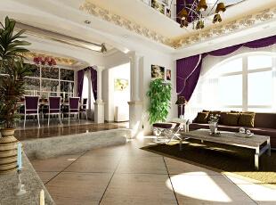 简欧风格就是简化了的欧式装修风格。也是目前住宅别墅装修最流行的风格。简欧风格更多的表现为实用性和多元化。简欧家具包括床、电视柜、书柜、衣柜、橱柜等等都与众不同,营造出日常居家不同的感觉。,135平,4.8万,欧式,三居,