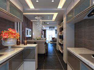 现代设计追求的是空间的实用性和灵活性。空间的利用率达到最高。简洁和实用是现代简约风格的基本特点。简约风格已经大行其道几年了,仍然保持很猛的势头,这是因为人们装修时总希望在经济、实用、舒适的同时,体现一定的文化品味。而简约风格不仅注重居室的实用性,而且还体现出了工业化社会生活的精致与个性,符合现代人的生活品位。 本案风格简洁大气,木色生香,适合节奏生活快速的都市人。,136平,4.5万,现代,三居,厨房,