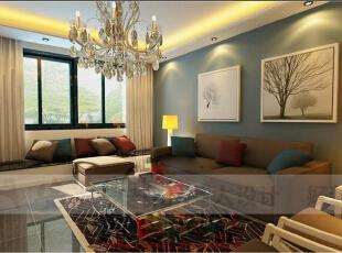 现代欧式风格通常采用深色的橡木或枫木家具和软装饰来营造整体效果。布艺沙发组合有着丝绒的质感以及流畅的木质曲线,将传统欧式家居的奢华与现代家居的实用性完美地结合。还有精美的油画,制作精良的雕塑工艺品,都是点染现代欧式风格不可缺少的元素。现代欧式空间有的不只是豪华、大气,更多的是惬意和浪漫。通过完美的曲线,精益求精的细节处理,带给家人不尽的幽雅清新,传统欧式木质家具色泽庄重,纹理精细美观,现代欧式家具简化了其繁复设计,其整个的框架更是显露出一番别样的古典韵味。,130平,65万,现代,三居,客厅,黄色,