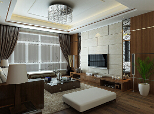 现代风格外形简洁、功能强,强调室内空间形态和物检的单一性、抽象性。 强调功能性设计,线条简约流畅,色彩对比强烈,这是现代风格家具的特点。,127平,4万,现代,三居,客厅,