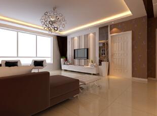 现代风格外形简洁、功能强,强调室内空间形态和物检的单一性、抽象性。 强调功能性设计,线条简约流畅,色彩对比强烈,这是现代风格家具的特点。,128平,4万,现代,三居,客厅,黄色,