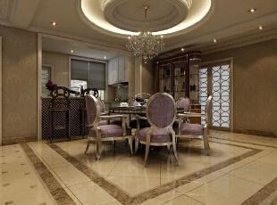 餐厅 餐桌,276平,30万,欧式,四居,欧式装修风格,