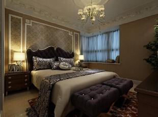 主卧室 在这样的卧室 早晨被优雅的背景音乐 叫醒 简直 太棒了,276平,30万,欧式,四居,新源燕府商品房,