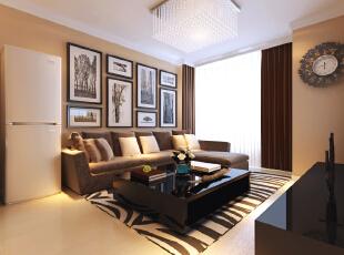 ,67平,2万,现代,两居,沙发背景,简约,