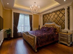 ,383平,75万,欧式,别墅,卧室,