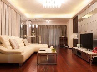 客厅,60平,现代,两居,客厅,