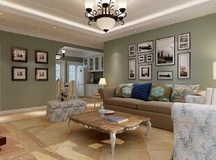 客厅 电视墙,139平,14万,现代,三居,石家庄天海誉天下,乐豪斯小落,