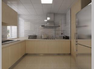 现代设计追求的是空间的实用性和灵活性。空间的利用率达到最高。简洁和实用是现代简约风格的基本特点。简约风格已经大行其道几年了,仍然保持很猛的势头,这是因为人们装修时总希望在经济、实用、舒适的同时,体现一定的文化品味。而简约风格不仅注重居室的实用性,而且还体现出了工业化社会生活的精致与个性,符合现代人的生活品位。本案风格简洁大气,木色生香,适合节奏生活快速的都市人。,110平,3万,现代,三居,厨房,