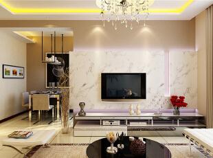 现代设计追求的是空间的实用性和灵活性。空间的利用率达到最高。简洁和实用是现代简约风格的基本特点。简约风格已经大行其道几年了,仍然保持很猛的势头,这是因为人们装修时总希望在经济、实用、舒适的同时,体现一定的文化品味。而简约风格不仅注重居室的实用性,而且还体现出了工业化社会生活的精致与个性,符合现代人的生活品位。本案风格简洁大气,木色生香,适合节奏生活快速的都市人。,125平,4万,现代,三居,客厅,