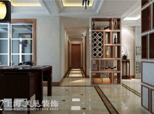 郑州金域上郡180平四室两厅混搭风格——过道效果图展示,180平,15万,混搭,四居,
