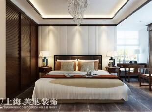 郑州金域上郡180平四室两厅混搭风格——卧室效果图,180平,15万,混搭,四居,