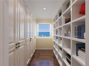,90平,3万,现代,两居,书房,