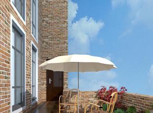 露天阳台,天气好的时候,闺蜜、好友聊天喝茶的最佳场所,387平,85万,欧式,别墅,阳台,