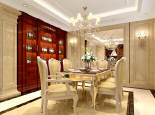 餐厅,387平,85万,欧式,别墅,餐厅,