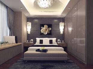,92平,19万,现代,两居,原木色,卧室,