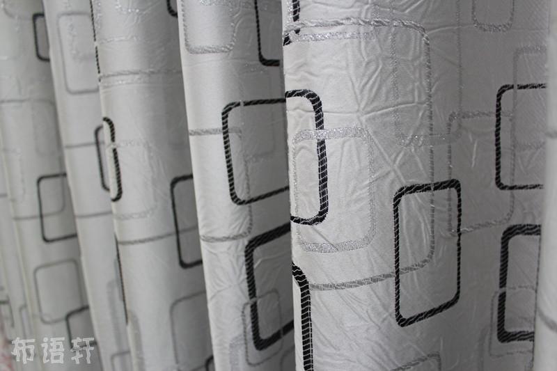 黑白格子 黑白几何图案 黑白抽象 黑白窗帘 北欧 现代图片