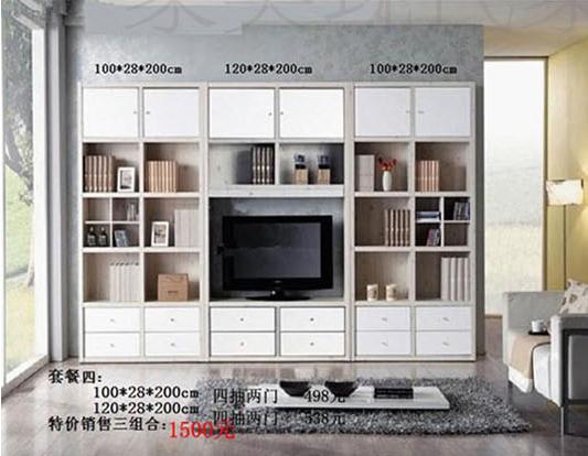 电视电视柜v电视书柜三包电视墙实木简约欧式白特价背景墙柜到家衣柜在被罩里呆久了图片