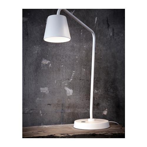 北京宜家代购 迪斯达 LED工作台灯, 白色001.579.01