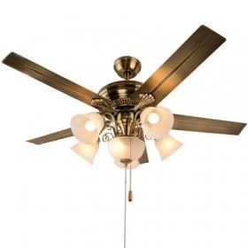 吊扇灯 欧式仿古电风扇灯带灯吊扇豪华装饰吊灯