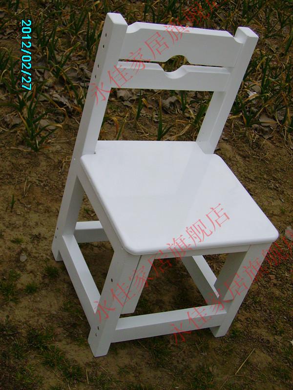 松木儿童升降椅/实木椅/学生椅可调节/白色椅学习靠背电脑叫叫椅