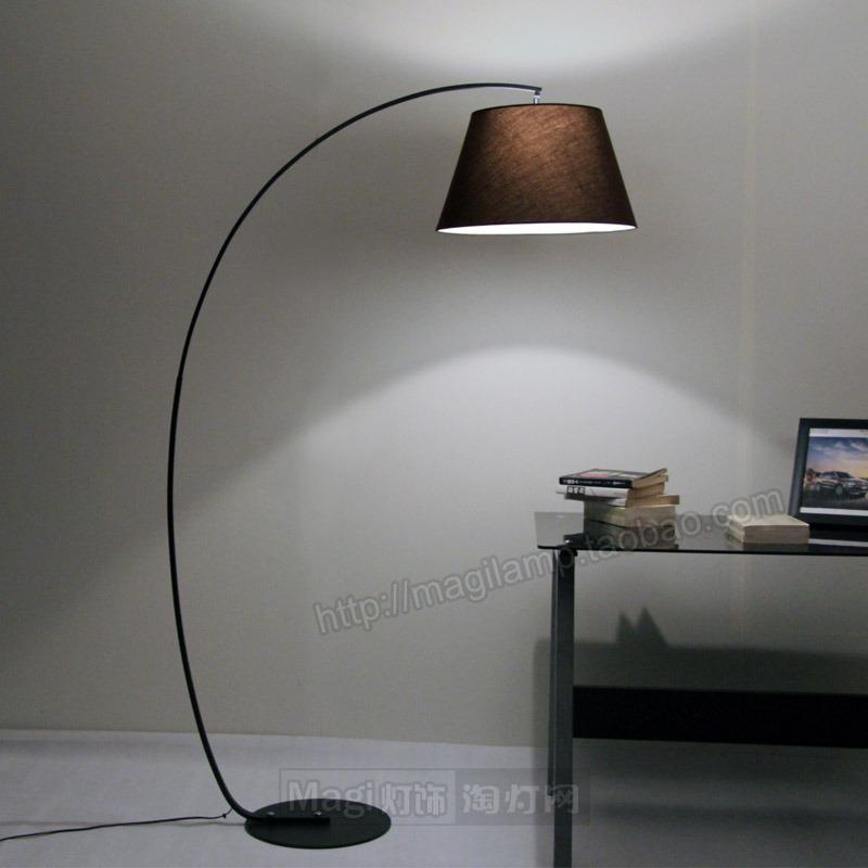 落地灯钓鱼灯客厅卧室书房创意简约图片
