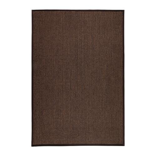 ◆皇冠宜家代购◆IKEA 奥斯特 平织地毯, 褐色 ◆宜家家居◆