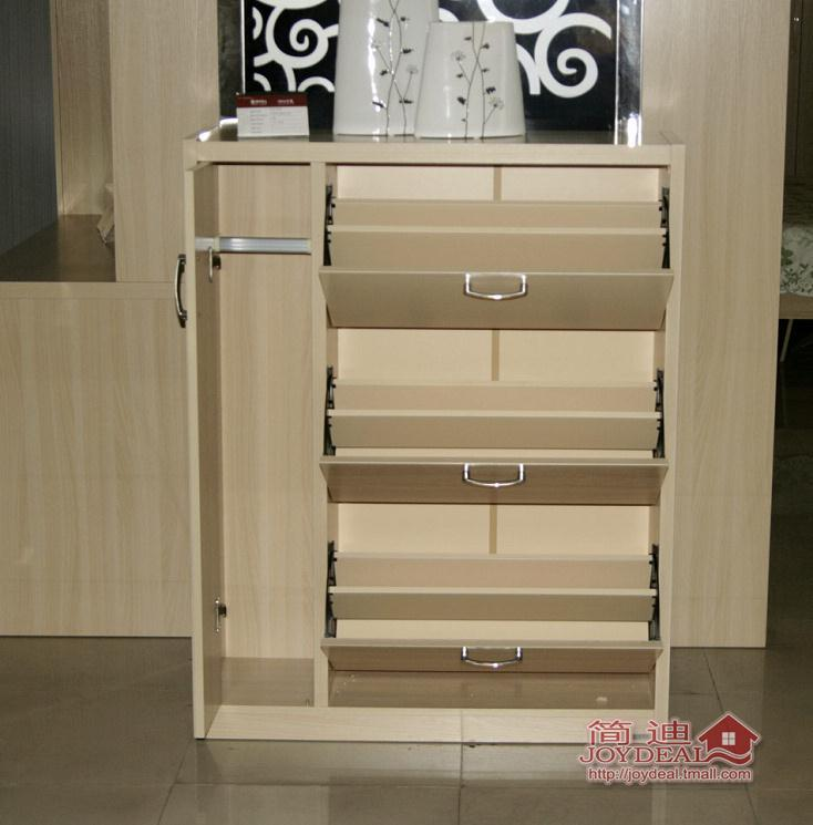 简迪 现代板式家具 鞋柜 简约门厅柜 特价鞋柜 翻转鞋柜 bq905图片