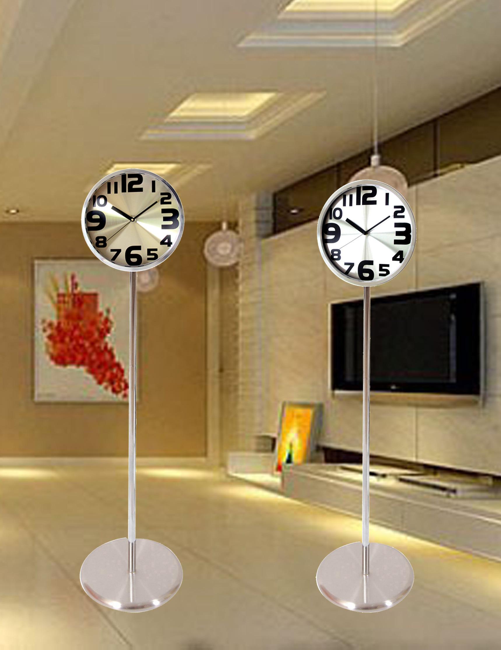 客厅现代挂钟田园